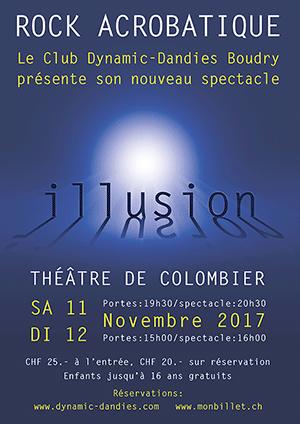 Affiche de l'évènement Dynamic Dandies – Illusion