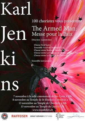 Affiche de l'évènement Karl Jenkins – The Armed Man: messe pour la paix
