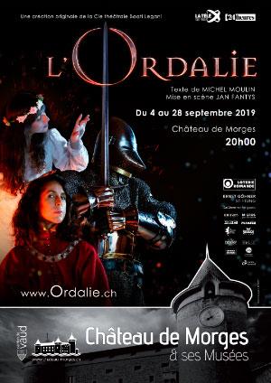 Affiche de l'évènement La Compagnie Baati Legani présente – L'Ordalie