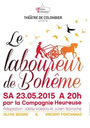 Affiche de l'évènement Compagnie Heureuse – Le Laboureur de Bohème