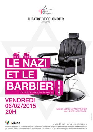 Affiche de l'évènement Théâtre – Le Nazi et le Barbier