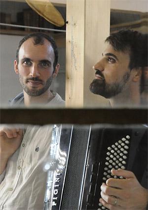 Affiche de l'évènement Lecture Canap – Alexandre Lecoultre & Julien Paillard, Peter und so weiter