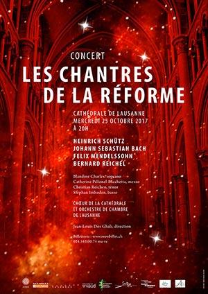 Affiche de l'évènement Chœur de la Cathédrale – Les Chantres de la Réforme