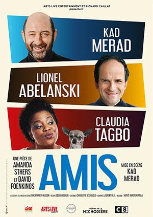 Affiche de l'évènement L2B Productions présentent Les Théâtrales – Amis