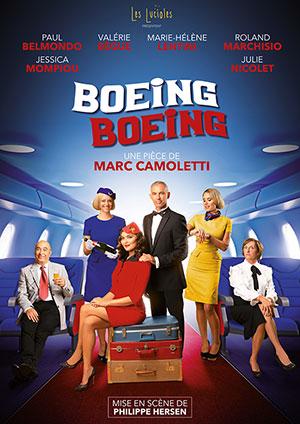 Affiche de l'évènement L2B Productions présentent Les Théâtrales – Boeing Boeing