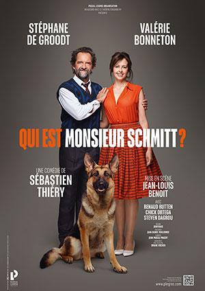 Affiche de l'évènement L2B Productions présentent Les Théâtrales – Qui est Monsieur Schmitt?