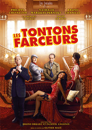 Affiche de l'évènement L2B Productions présentent Les Théâtrales – Les Tontons Farceurs