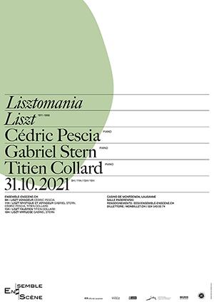 Affiche de l'évènement Ensemble enScène – Lisztomania