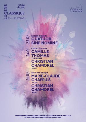 Affiche de l'évènement Récital des sens – Festival Lucens Classique