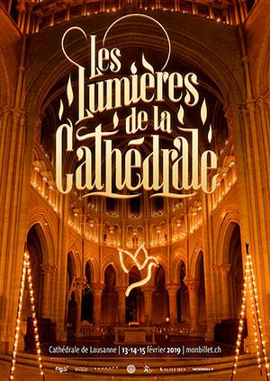 Affiche de l'évènement Les Lumières de la Cathédrale – Le Chant des Étoiles