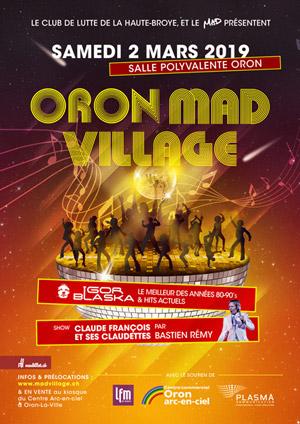 Affiche de l'évènement 7e édition – Oron Mad Village