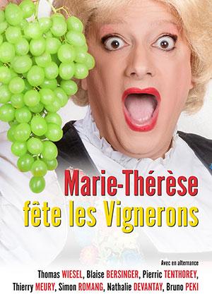 Affiche de l'évènement Humour – Marie-Thérèse fêteles Vignerons