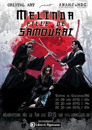 Affiche de l'évènement Danse et Arts martiaux – Melinda Fille de Samouraï