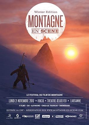 Affiche de l'évènement Festival du film de montagne – Montagne en Scène
