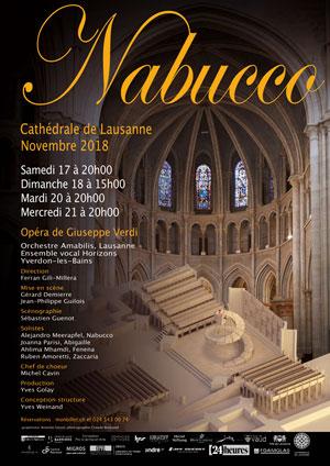 Affiche de l'évènement Opéra de Giuseppe Verdi – Nabucco