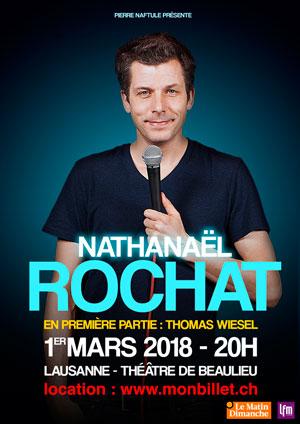 Affiche de l'évènement Stand Up – Nathanaël Rochat