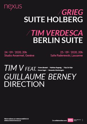 Affiche de l'évènement Par l'Orchestre Nexus – Classique vs Jazz  – La Suite 2.0, Grieg et Verdesca