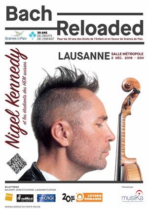 Affiche de l'évènement Bach Reloaded – Nigel Kennedy
