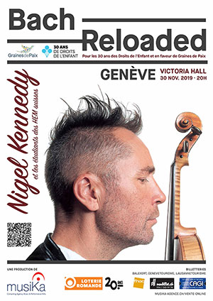 Affiche de l'évènement Bach Reloaded – Nigel Kennedy