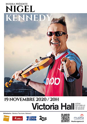 Affiche de l'évènement Nigel Kennedy Meets Beethoven – Nigel Kennedy