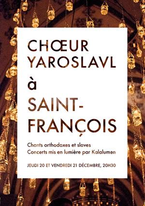 Affiche de l'évènement Chœur Yaroslavl – Noël aux bougies