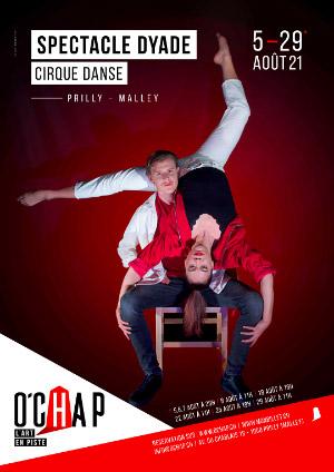 Affiche de l'évènement Programmation O'Chap: cirque et danse – Dyade