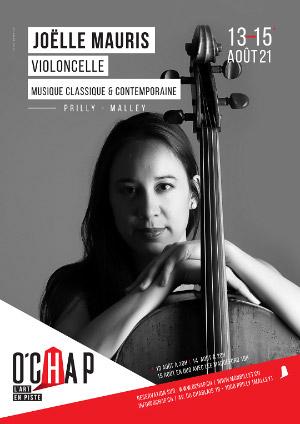 Affiche de l'évènement Programmation O'Chap: musique classique-contemporaine – Joëlle Mauris, Suites de Benjamin Britten
