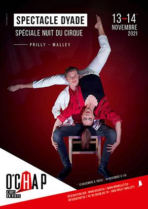 Affiche de l'évènement O'Chap – La Nuit du Cirque – Dyade