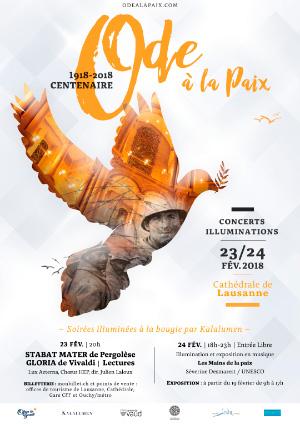Affiche de l'évènement Avec Lux Aeterna & le Choeur HEP - Direction Julien Laloux – Stabat Mater de Pergolèse et Gloria de Vivaldi