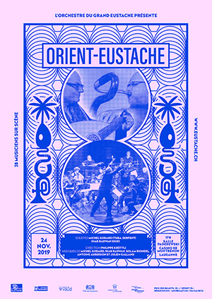 Affiche de l'évènement Création de l'Orchestre du Grand Eustache – ORIENT-EUSTACHE