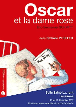 Affiche de l'évènement Compagnie de la Marelle – Oscar et la Dame Rose