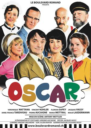 Affiche de l'évènement Le Boulevard Romand – Oscar