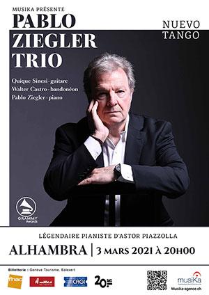 Affiche de l'évènement MusiKa présente – Pablo Ziegler Trio