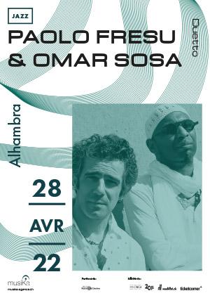 Affiche de l'évènement MusiKa présente – Paolo Fresu & Omar Sosa