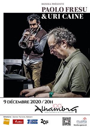 Affiche de l'évènement MusiKa présente – Paolo Fresu & Uri Caine