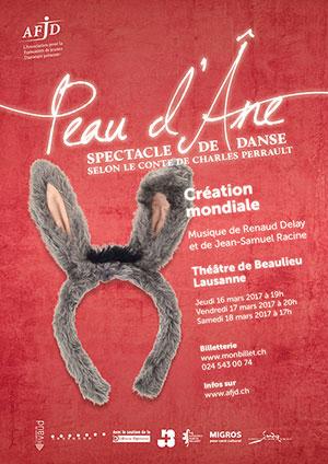 Affiche de l'évènement Spectacle de danse – Peau d'Âne