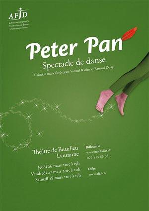 Affiche de l'évènement Spectacle de danse – Peter Pan