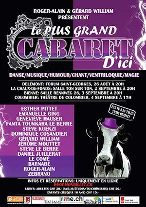 Affiche de l'évènement Music Hall – Le Plus Grand Cabaret d'Ici
