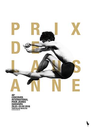 Affiche de l'évènement Concours International de Ballet – Prix de Lausanne – Finale