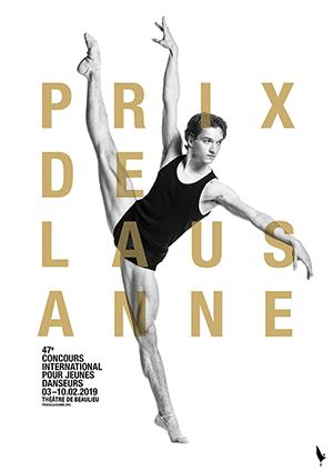 Affiche de l'évènement Concours international pour jeunes danseurs – Prix de Lausanne - Sélections