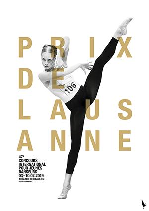 Affiche de l'évènement Concours international pour jeunes danseurs – Prix de Lausanne – Finale