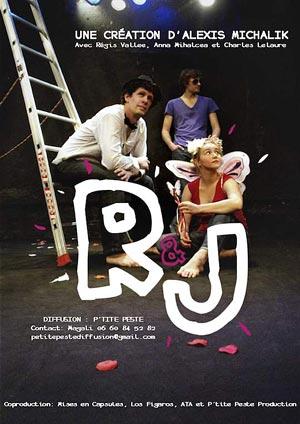 Affiche de l'évènement Une création d'Alexis Michalik – Roméo & Juliette
