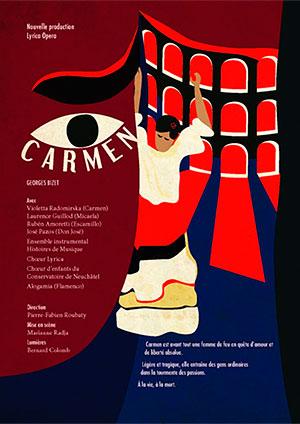 Affiche de l'évènement Rencontres Culturelles de la Vallée de Joux – Carmen