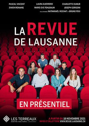 Affiche de l'évènement Humour – La Revue de Lausanne EN PRÉSENTIEL