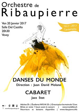 Affiche de l'évènement Orchestre de Ribaupierre – Danses du Monde