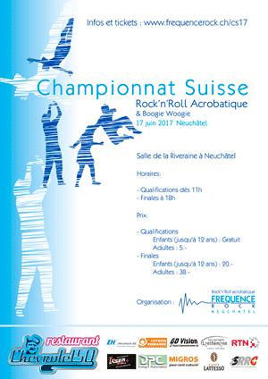 Affiche de l'évènement Championnat Suisse 2017 – Rock Acrobatique