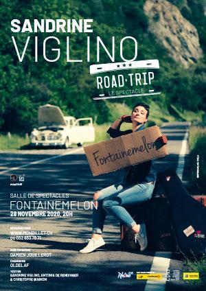 Affiche de l'évènement Road Trip – Sandrine Viglino