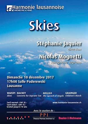 Affiche de l'évènement Harmonie Lausannoise – Skies