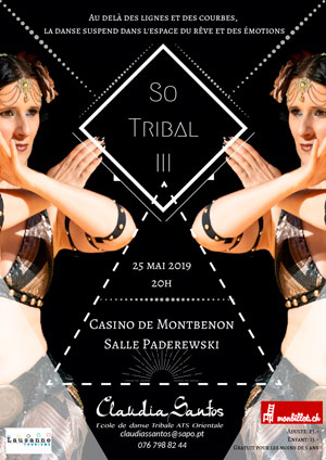 Affiche de l'évènement Spectacle de danse fusion – So Tribal!