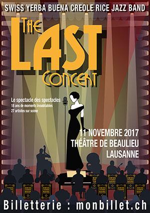 Affiche de l'évènement The Last Concert – Swiss Yerba Buena